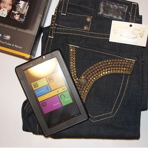 Robin's Jean 31 Men's with free tablet